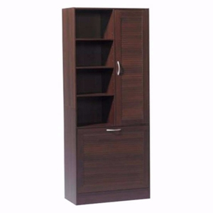 4D Concepts Rich and Beautiful Utility Storage Brown Tower by 4D Concepts