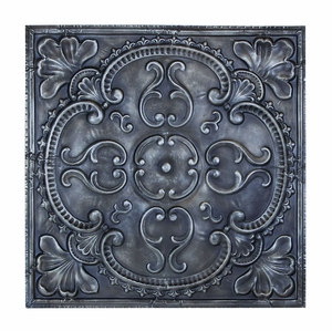 Rich And Illustrious Wall Decor With Medieval Floral Design Brand Woodland