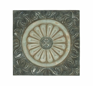 Rich And Illustrious Wall Decor With Roman Floral Design Brand Woodland