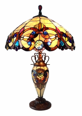 Rich and Royal Victorian Table Lamp by Chloe Lighting