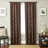 Rich Chocolate - Chocolate Laver Curtain With Strong Depth Brand Softline