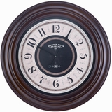 Rich, Elegant and Thick Pearce Clock by Cooper Classics