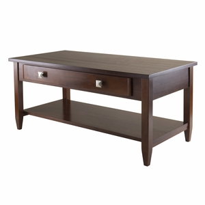 Winsome Wood Richmond Coffee Table Tapered Leg