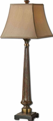 Rittana Buffet Lamp with Antiqued Gold Detailing Brand Uttermost