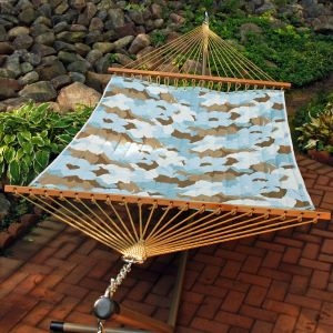 Robin's 13' Reversible Quilted Hammock by Alogma
