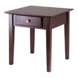 Rochester End Table Old Classic Designed, Best Suitable For Home by Winsome Woods