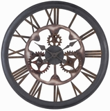 Rome Fascinating Styled Antique Senna Clock by Cooper Classics