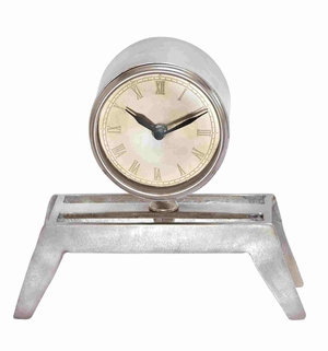 Rome Riveting Artistic Table Clock Creation Brand Benzara