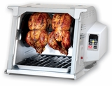 Ronco ST5000PLGEN Digital Showtime Rotisserie and BBQ Oven, Platinum Edition by EMG