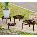 Round Shaped Nested Plant Stands Set of Four by SPI-HOME
