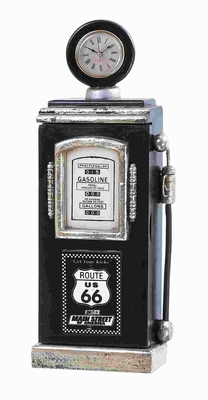 Route 66 Gas Pump Key Holder with Elegant and Antique Design Brand Woodland