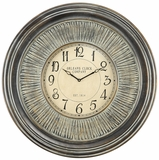 Rural and Rustic Lenna Clock by Cooper Classics