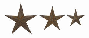 Rustic Irish Styled Creative Star Set Brand Benzara