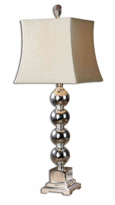 Sachie Stacked Spheres Table Lamp with Crystal Glass Brand Uttermost