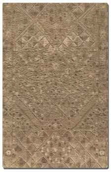 Safi 5' Medium Shag Rug With Low Cut Subtle Details Brand Uttermost