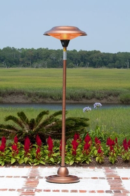 Salerno Floor Standing Halogen Patio Heater, Safe And Stylish Unit by Well Travel Living