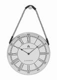 Salerno Sophisticated Rope Hanging Wall Clock Brand Benzara