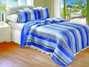 San Marino Collection Brisbane Multi Color King Sham by Greenland Home Fashions