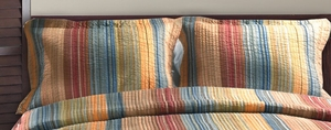 San Marino Collection Katy Multi Color King Sham by Greenland Home Fashions
