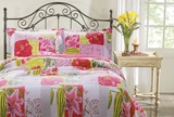 San MarinoLove Letters Queen Sized Quilt Set
