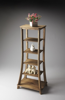 """Sandy Shore Etagere 56""""H by Butler Specialty"""