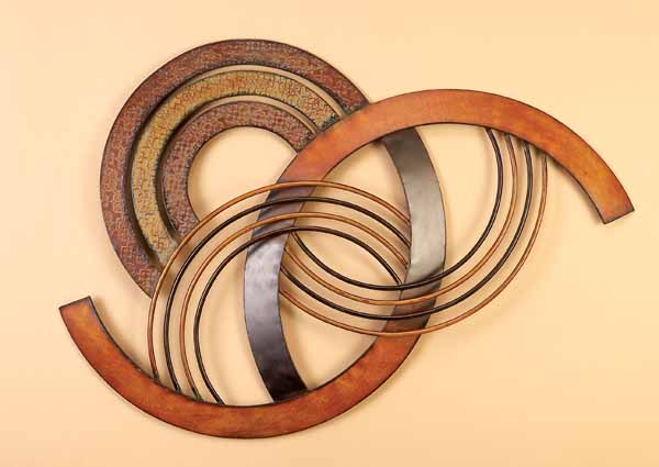 Wall Decor Santa Fe Metal Wall Decor Sculpture Abstract Metal Wall
