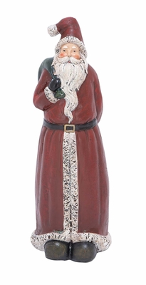 "Santa Statue 16""H Holiday Decor"