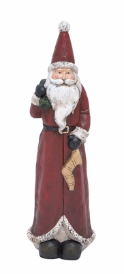 "Santa Statue 29""H Holiday Decor"