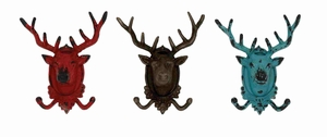 Sassy Styled Fun-Filled Metal Deer Hook Brand Benzara