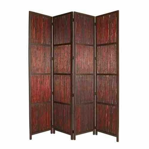 Savannah Screen, Brown, 4 Panel Screen, 80 Inch L x 96 Inch H Brand Screen Gems