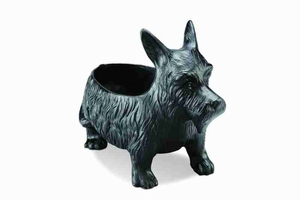 Scottie Dog Planter Box A Long Lasting Resin Made Lawn Decor Brand SPI-HOME