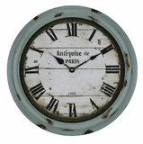 Sea Green Finish Fantastic Styled Anthea Clock by Cooper Classics
