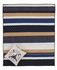 Seapoint Super King Quilt with Polka Dotts and Vertical Stripes Brand VHC