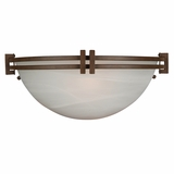 Sequoia Collection Attractive 1 Light Wall sconce in Brown by Yosemite Home Decor
