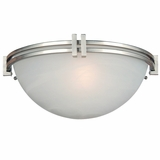 Sequoia Collection Wonderfully Styled 1 Light Wall sconce in Satin Nickel Finish by Yosemite Home Decor