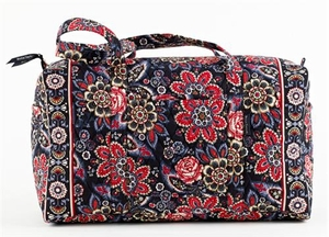Serafina Style Handbag - Quilted Duffle Purse By Bella Taylor Brand VHC