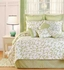 Serendipity Green Cotton  Quilt Luxury Os Queen  Bedding Ensembles Brand C&F