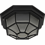 Serge Collection Amazing 2 Lights Flush Mount in Oil Rubbed Bronze by Yosemite Home Decor