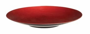 "Set/8 Aspen Red Melamine Platters 18"" Wedding Party Brand Woodland"