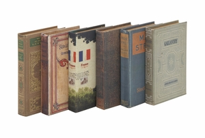 Set of 6 Unique and Adorable Book Boxes by Woodland Import