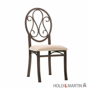 Set of Four Adorable Holly & Martin Paisley Chair by Southern Enterprises