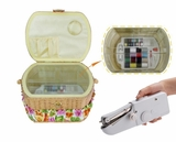 Sewing basket and handheld sewing machine FS-098