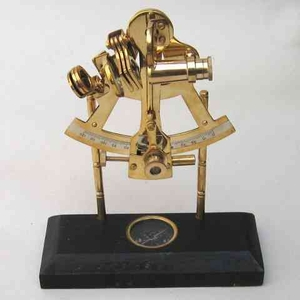 Sextant Brass On Compass To Impress The Guests With Celestial Knowledge Brand IOTC