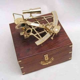 Sextant Brass With Wood Case All Time Nautical Gift Option For Anyone Brand IOTC