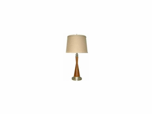 Shelby Table Lamp in Lovely Pastel Colors by 4D Concepts