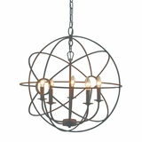 Shooting Star Amazing Styled 5 Light Mini Chandelier in Rustic Finish by Yosemite Home Decor