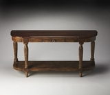 Simple Agatha Solid Wood Console Table by Butler Specialty