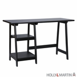 Simple and Elegant Gavin Black Desk by Southern Enterprises
