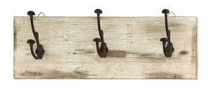 Simple And Elegant Wall Hooks With Rustic Nail Knobs Brand Woodland