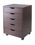 Simple Yet Attractive And Useful Halifax 5 Drawers Cabinet by Winsome Woods